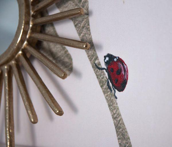 Detail behang