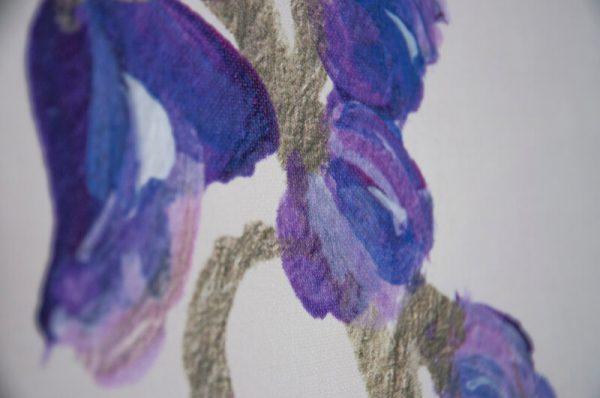 Behang detail bloemenvallei
